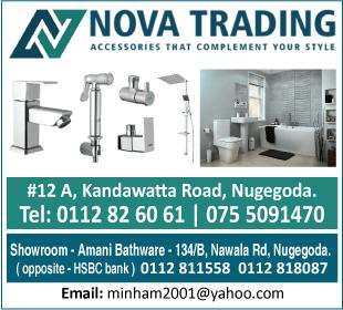 Sanitaryware-Nova Trading