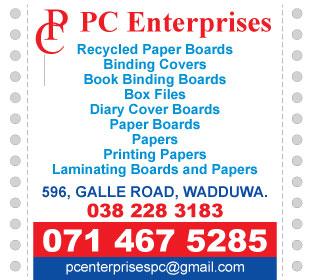 Papers & Boards - P C Enterprises