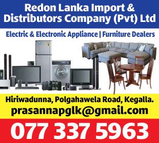 Electric & Electronic Appliances - Redon Lanka Import Distributors Company