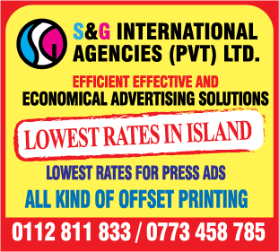 Advertising Agencies & Counsellors-S & G International Agencies