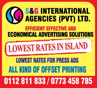 Advertising Agencies & Counsellors-S & G International Agencies