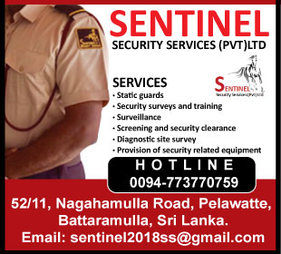 Security Guards & Patrol Services - Sentinel Security Services (Pvt) Ltd