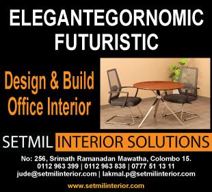 Office Equipment & Supplier - Setmil Interior Solutions (Pvt) Ltd