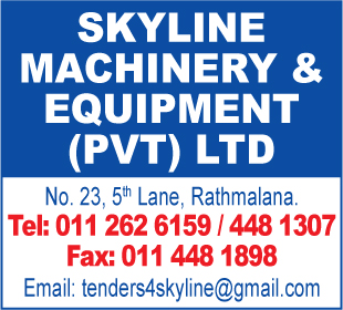 Machinery - Skyline Machinery and Equipments (Pvt) Ltd