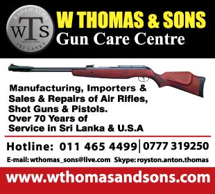 Guns & Gunsmith - W Thomas & Sons Gun Care Center