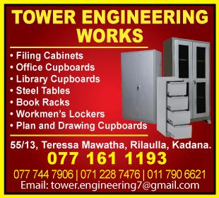 Steel Furniture - Tower Engineering Works