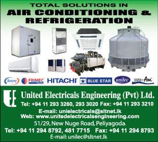 Air Conditioning Contractors - United Electricals Engineering (pvt) Ltd