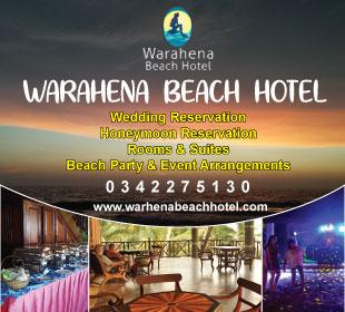 Hotel - Bentota - Warahena Beach Hotel