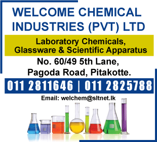 Chemicals - Welcome Chemical Industries (Pvt) Ltd