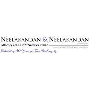 Neelakandan & Neelakandan  Attorneys-at-Law & Notaries Public