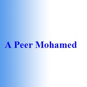 A Peer Mohamed