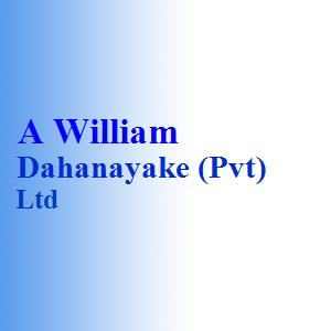A William Dahanayake (Pvt) Ltd