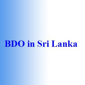 BDO in Sri Lanka