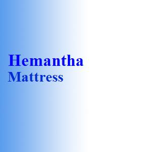 Hemantha Mattress