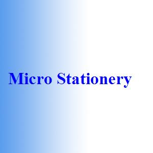 Micro Stationery