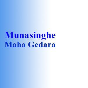 Munasinghe Maha Gedara