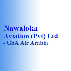 Nawaloka Aviation (Pvt) Ltd - GSA Air Arabia