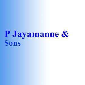 P Jayamanne & Sons