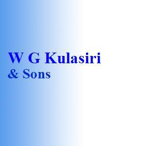 W G Kulasiri & Sons